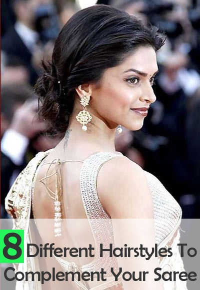 Hairstyles To Compliment Your Saree