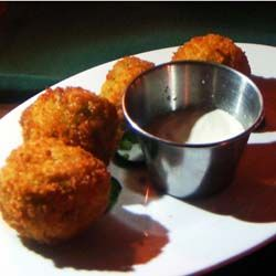 Cuban fried potato balls