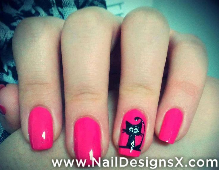 24 best animals nail designs nail art images on pinterest cats 1 nail art prinsesfo Gallery
