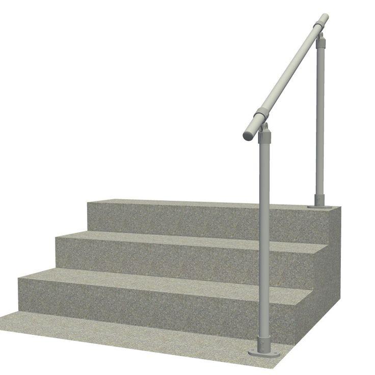 Surface C50 - Surface Mount Railing   Stair railings ...