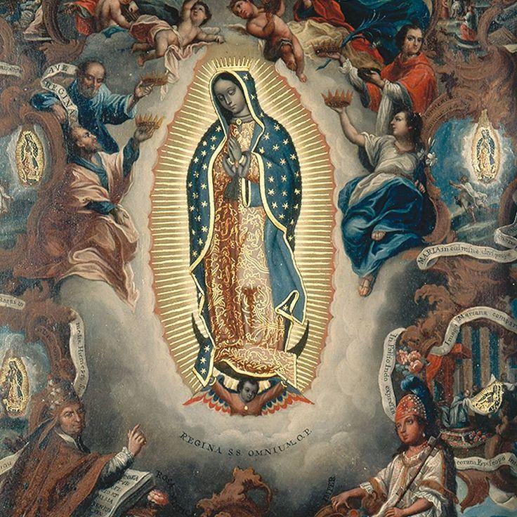 """124 Me gusta, 4 comentarios - Fomento Cultural Banamex A.C. (@fomentoculturalbanamex) en Instagram: """"La Virgen de Guadalupe fue nombrada patrona de la Nueva España, que hoy en día es México, en 1754.…"""""""