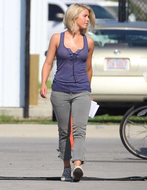 Julianne Hough - not stick-thin, but still in shape. Realistic fitness goal. Love her.