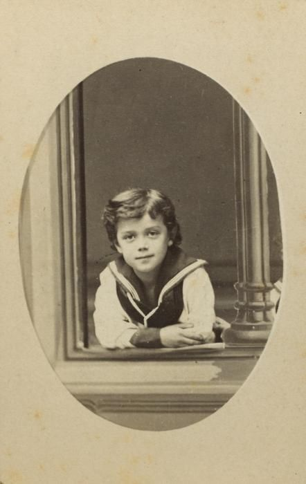 Young Tsar Nicholas II.
