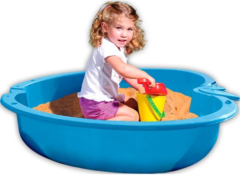 this plastic paddling pool (although not with a child in, mine has turtles in it :-)