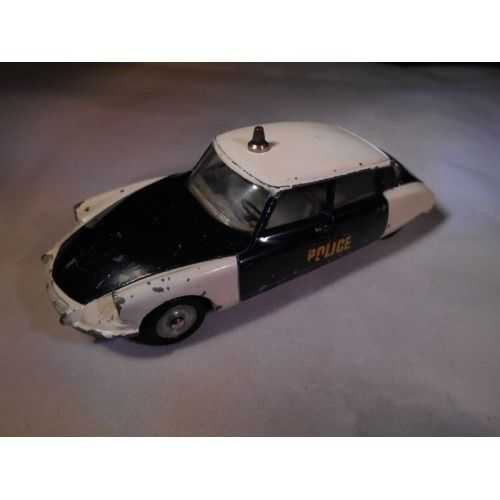 DS 19 Police Dinky toys ancienne