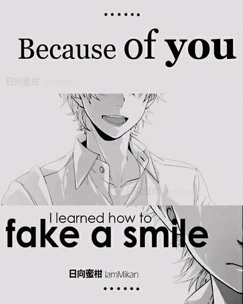 ~ Por causa de você eu aprendi a fingir um sorriso. Obrigado a melhor pessoa que poderia existir: Baozi