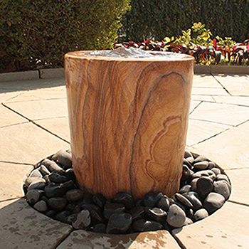 Strata Pavo Rainbow Sandstone 60cm Water Feature + 1500 Resrevoir Kit