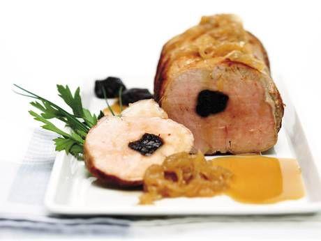 Rôti de porc aux pruneaux - Arrosto di maiale alle prugne