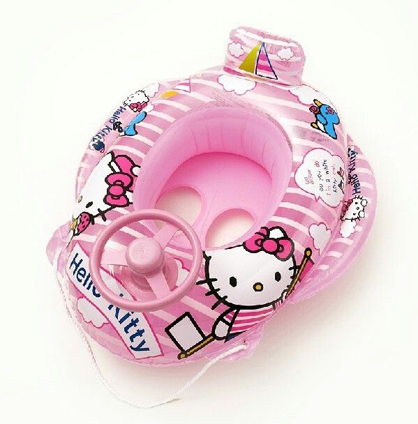 Hello kitty baby pool floaty