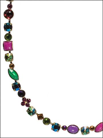 Classic Tee-Shirt Necklace in Volcano by Sorrelli
