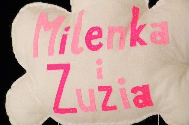Milenka i Zuzia na chmurce
