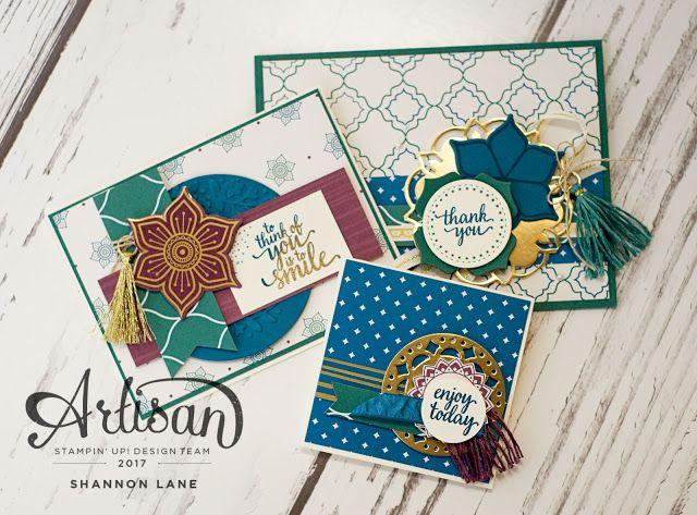 Crush On Colour: Eastern Palace:  Stampin' Up! Artisan Design Team ...