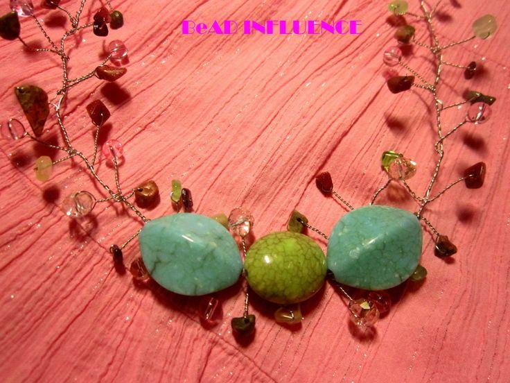 wire twisting #diy #necklaces #beadinfluence #unique