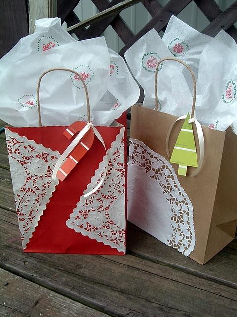 Handmade gift wrap ideas