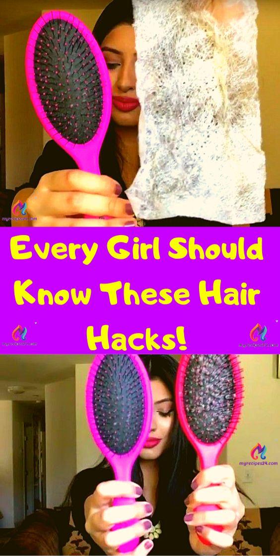 Jedes Mädchen sollte diese Hair Hacks kennen !!! – Kilkiz Ing – Fashion Wedding Decor Ideas