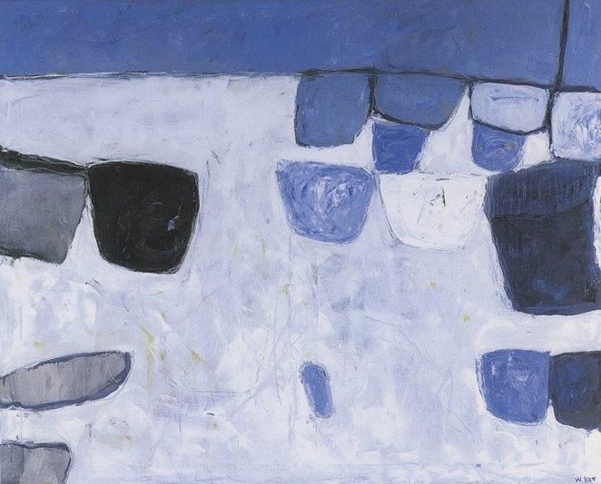Blue and White - William Scott