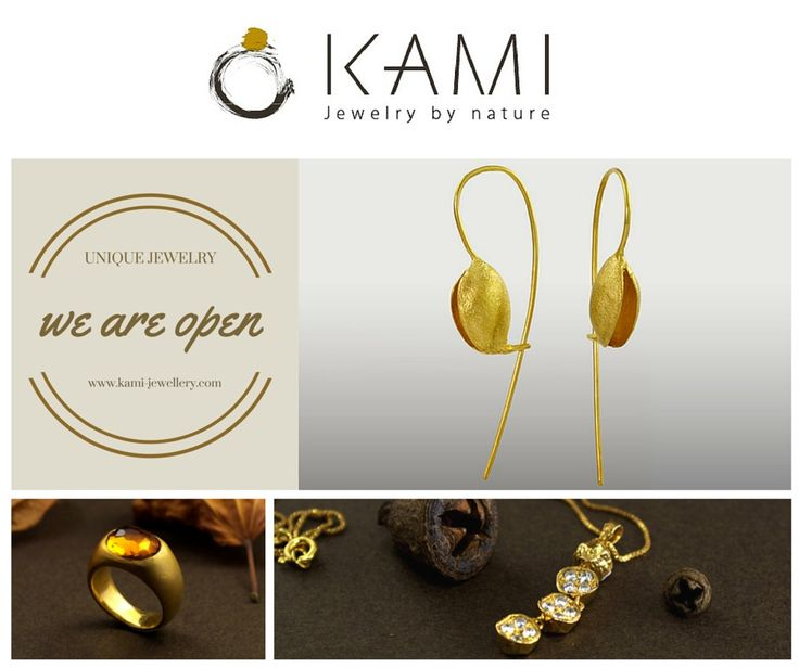 KAMI-JEWELLERY IS OPEN