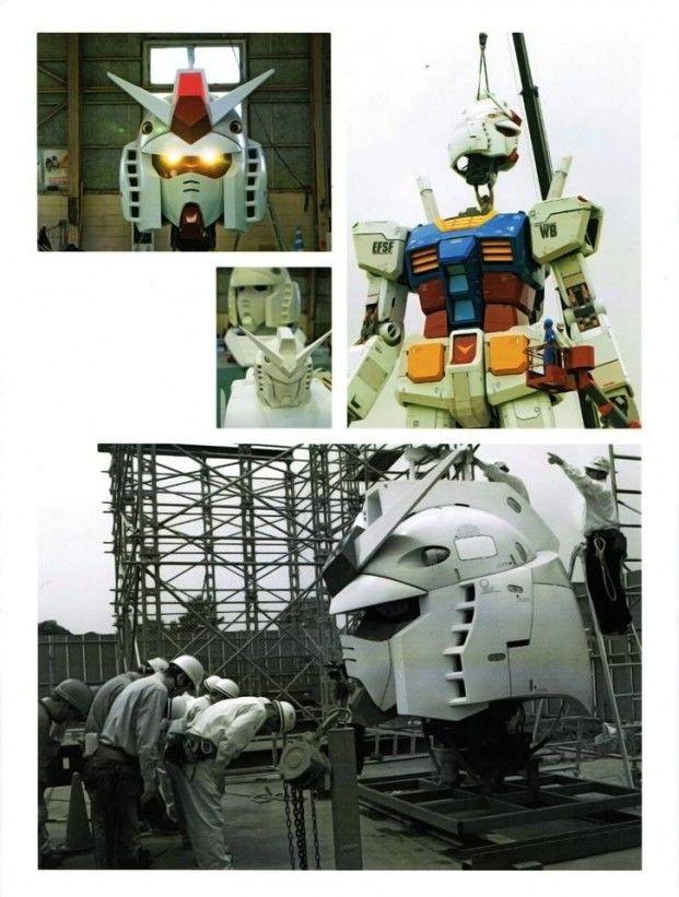 [Full Scans] Real-G 1/1 scale GUNDAM Photographs. Photographer Noriko Yamaguchi. ENJOY   GUNJAP