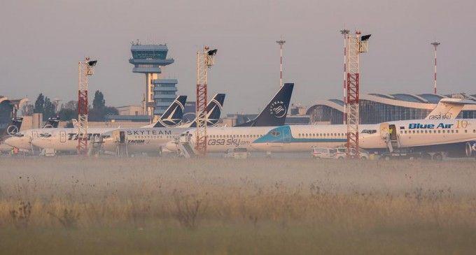CNAB a înregistrat o creştere de 11.4% a traficului de pasageri pe aeroporturile bucureştene