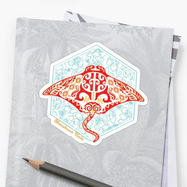 Great for oceanographers, Moana film lovers, and pretty much anyone who like fun ocean animal designs. It's our tribal take on the Manta Ray. We've previously made similar designs of Honu (Sea Turtle) and Hibiscus. It incorporates elements of flora and fauna, along with waves, flames, and the Menehune Hale symbol. • Also buy this artwork on stickers, apparel, phone cases, and more.