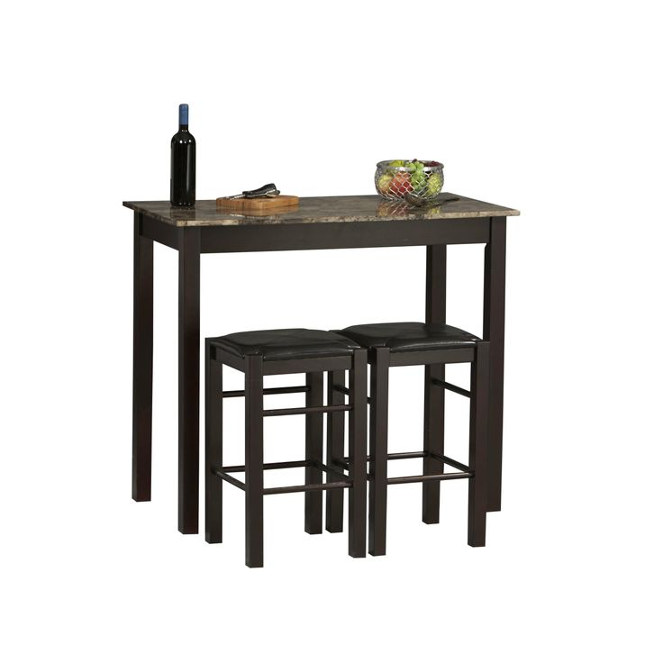 Tavern 3 Pc Counter Height Dining Set