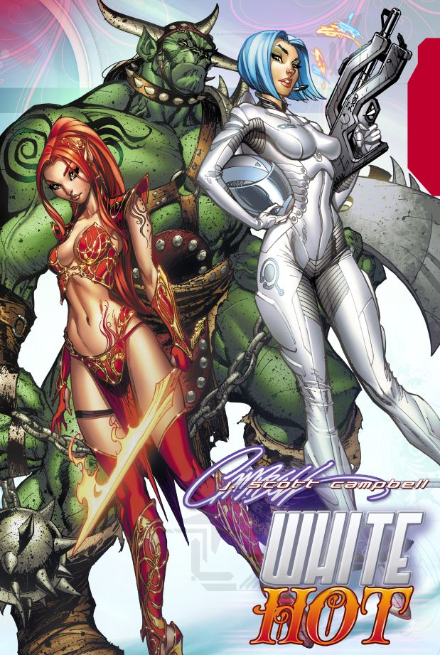 WHITE Hot : Hardcover collection by *J-Scott-Campbell on deviantART