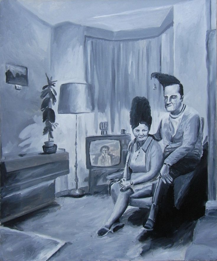 Vic Reeves - Mr and Mrs Cliff Cloth on www.eyestorm.com