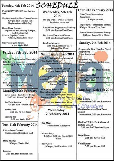 Schedule for META 2014