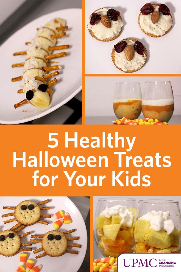 There are plenty of creative ways to stay on track. We whipped up a few of our favorite healthy (and spooky) Halloween treats to keep your kids in the holiday spirit without the sugar rush.