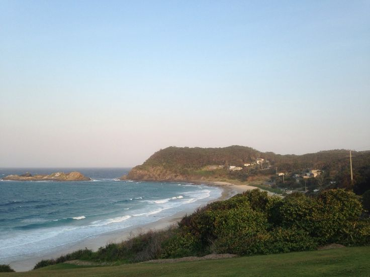 Seal Rocks in New South Wales