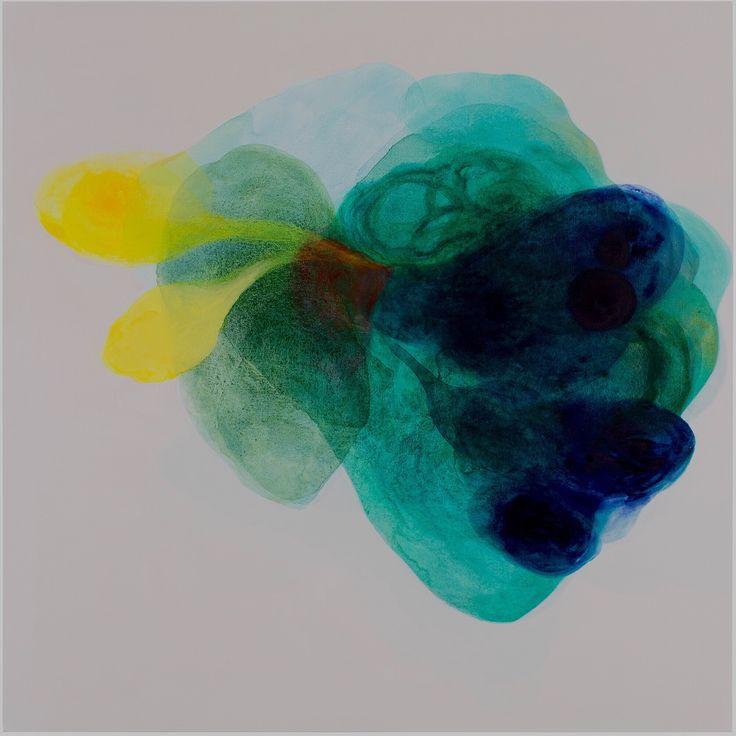 Melek MAZICI  Rubato, 2015 acrylic on canvas 120x120cm