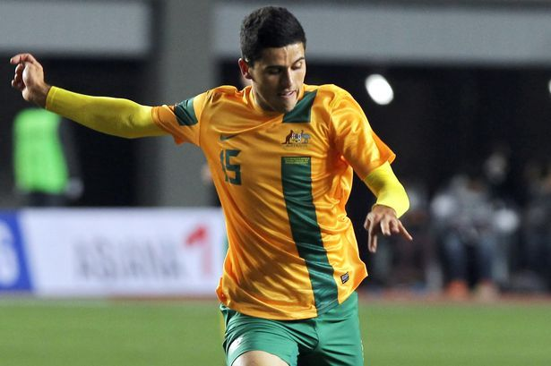 Tom Rogic, Australian footballer who plays for Celtic Glasgow, a Scottish club, and for Australian national football team as an attacking midfielder.  He's 21 and has played for Belconnen and Central Coast Mariners.