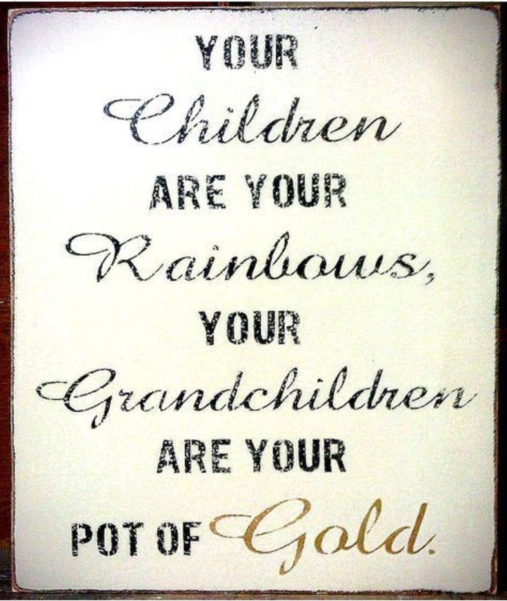 Cute quote 🥰 Grandparents quotes, Quotes about grandchildren