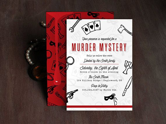 8 best Other invitations images on Pinterest Invites, Invitation - invitation wording for mystery party
