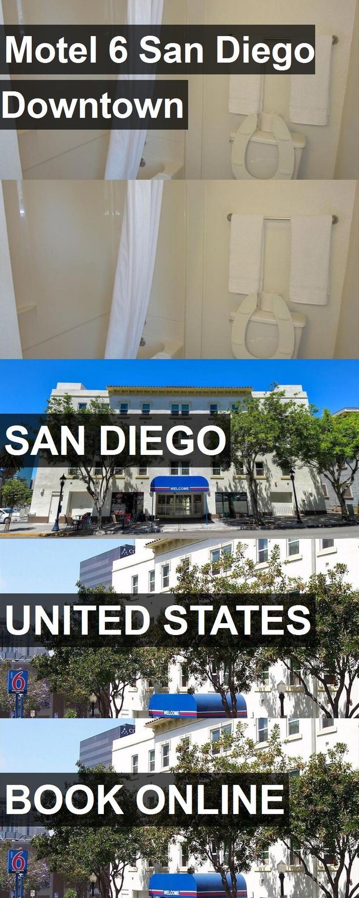 Hotel Motel 6 San Diego Downtown in San Diego, United States. For more information, photos, reviews and best prices please follow the link. #UnitedStates #SanDiego #travel #vacation #hotel