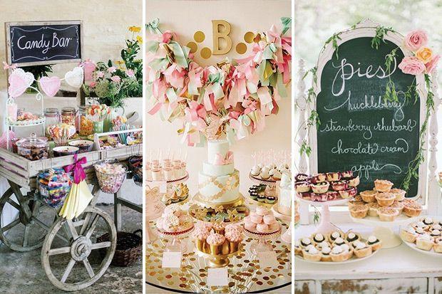 Food Glorious Food! 13 Wedding Food Stations Ideas | See the list on www.onefabday.com