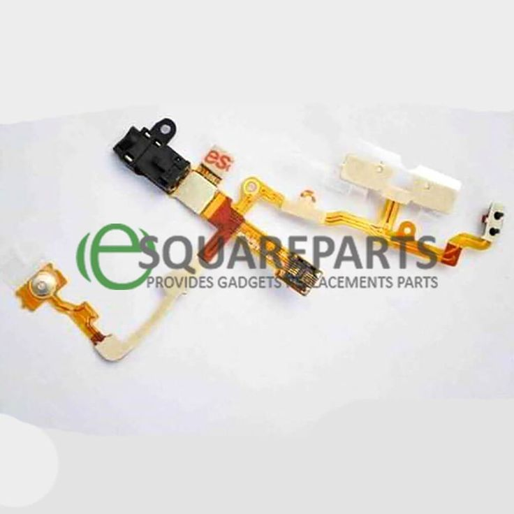 BLACK POWER FLEX CABLE FOR IPHONE 3G/3GS 8GB/16GB/32GB VOLUME/SILENT/HEADPHONE