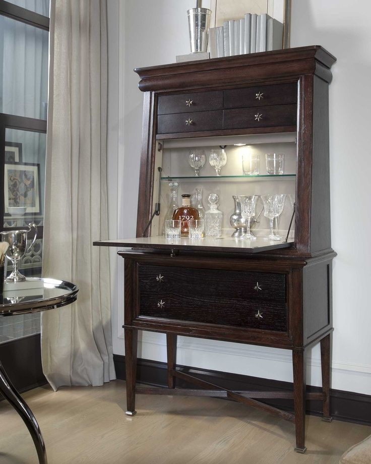 Secretary Desk Bar In 2019 Secretary Desks Antique