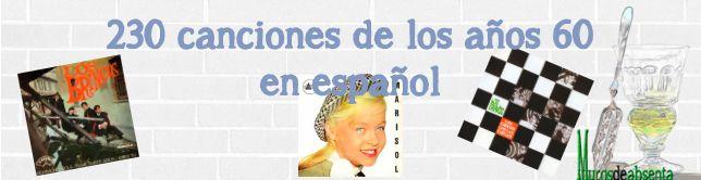Música de los años 50 (en español).