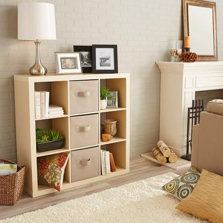Better Homes and Gardens 9-Cube Storage, Multiple Colors - Walmart.com