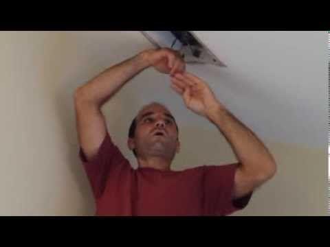 Loud exhaust fan repair - YouTube