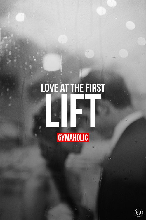 "gymaaholic: "" Love at the first lift. More motivation -> http://www.gymaholic.co """