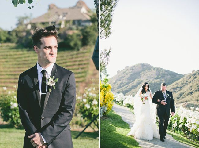 my wedding photographers!! // Glamorous Malibu Wedding: Sarah + Brendon from onelove Photography