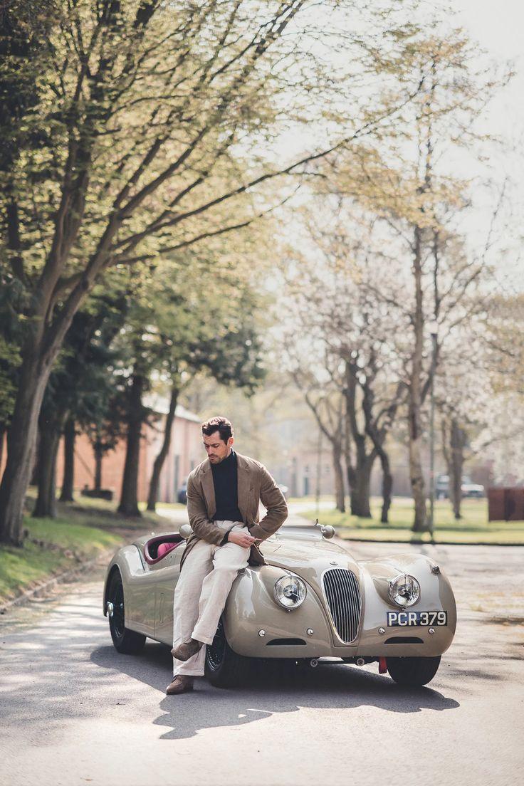 David Gandy; Jaguar XK 120. Jaguar xk, David gandy, Jaguar