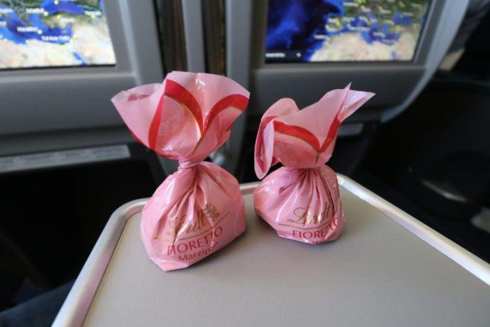 Condor Business Class chocolate