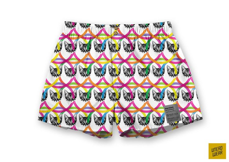 "Unerdwear Nerdies ""Cute Kittens Attack!"" #boxers #underwear"