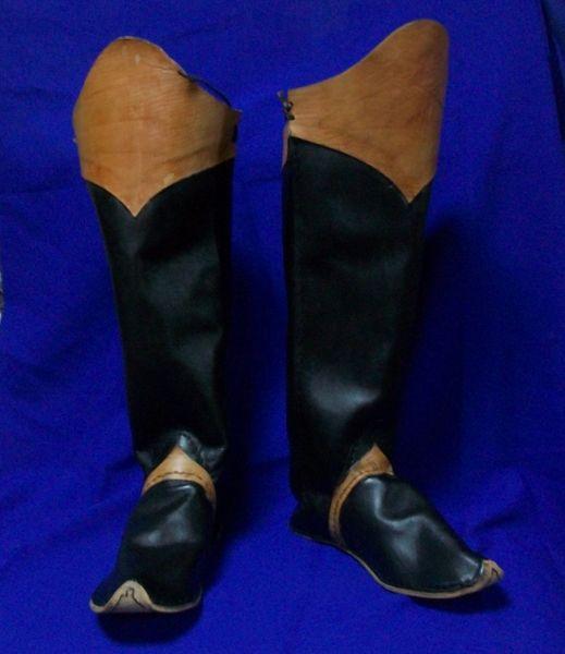 Boots.Kievan Rus nobility footwear
