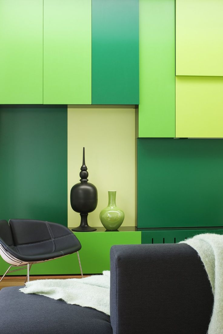 Interior house color design