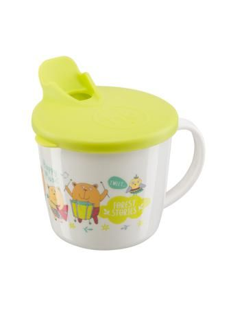 """Happy Baby Тренировочная кружка с крышкой """"TRAINING CUP""""   LIME  — 270р.  Кружка с крышкой TRAINING CUP это прекрасная возможность научить малыша пить самостоятельно. Крышка имеет специальный носик для питья, который поможет ребёнку комфортно перейти от бутылочки к кружке. Удобная ручка разработана специально для маленьких ручек малыша. Без крышки можно использовать как обычную кружку. Забавные рисунки понравятся вашему малышу, и он с удовольствием будет пить из такой яркой кружки."""