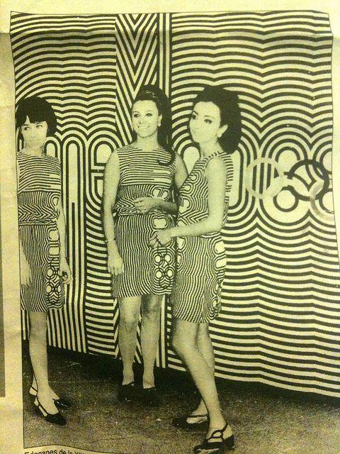 Mexico 1968 Olympic Host Dress - Lance Wyman, Beatrice Colle, Jose Luis Ortiz, Jan Stornfeld